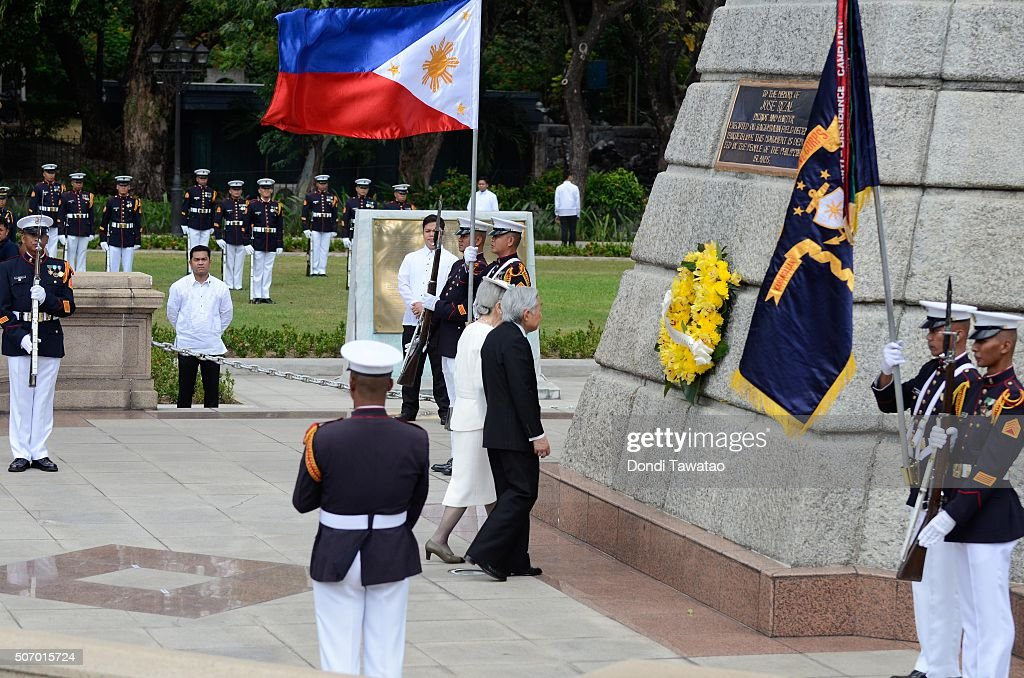 Japan's Emperor And Empress State Visit To Philippines : News Photo