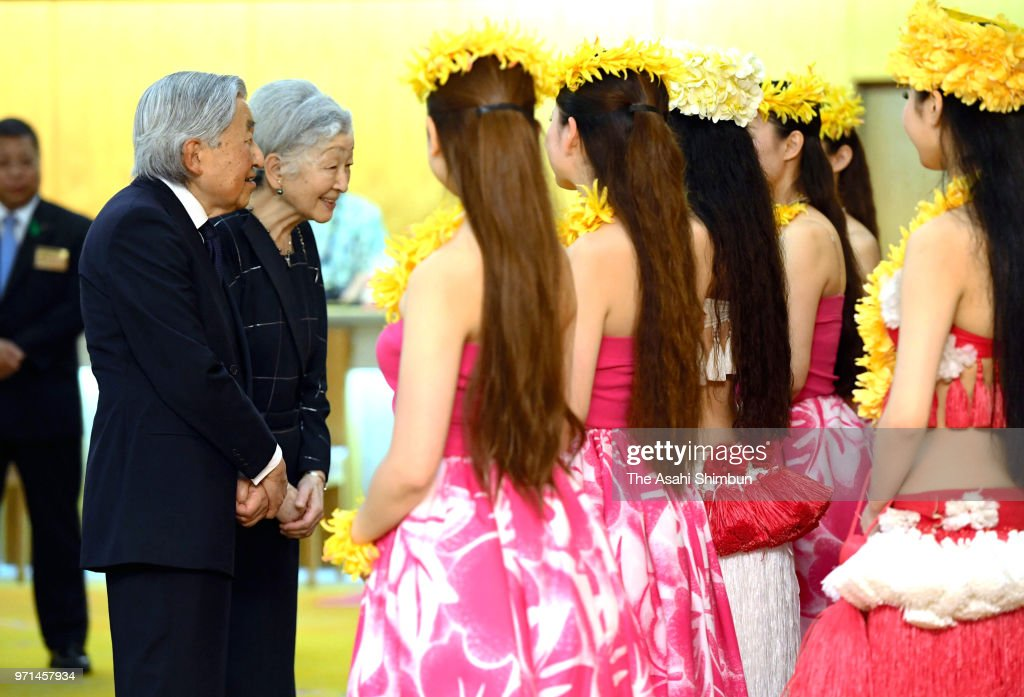 Emperor And Empress Visit Fukushima - Day 1