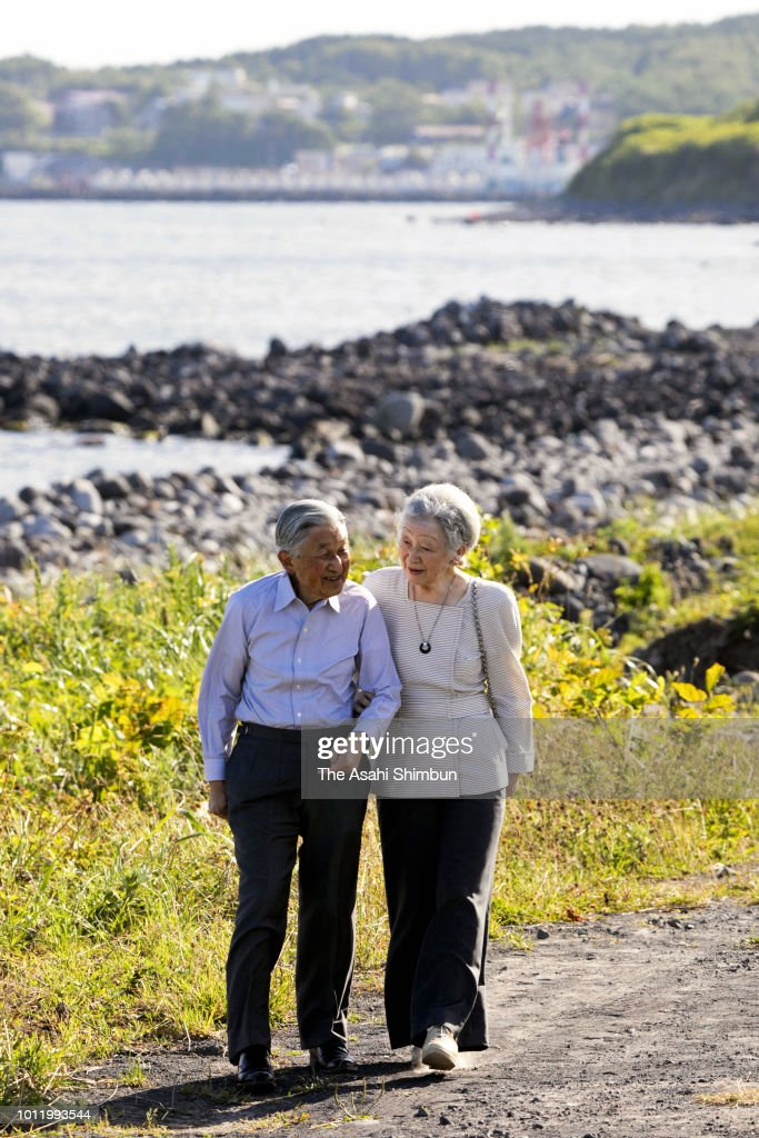 Emperor And Empress Visit Hokkaido - Day 2