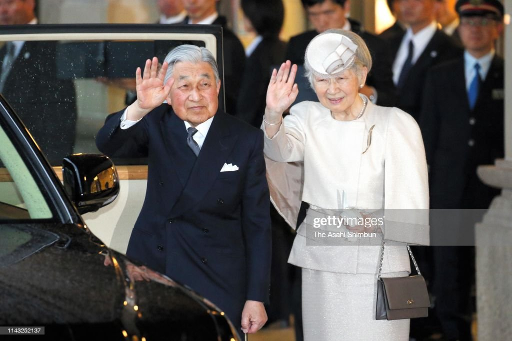 JPN: Emperor And Empress Visit Ise Shrine - Day 1