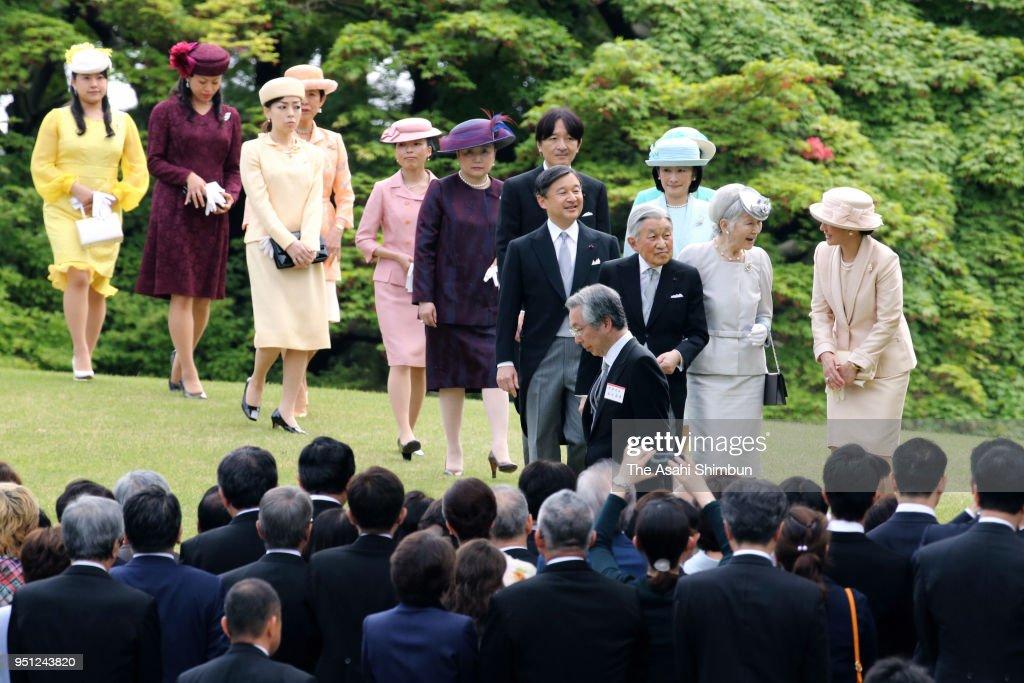 Royal Family Hosts Spring Garden Party
