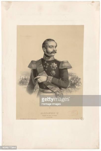 Emperor Alexander II 1855 Private Collection