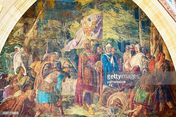 empereur charlemagne - charlemagne photos et images de collection