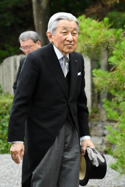 JPN: Emperor Emeritus And Empress Emerita Visit Kyoto - Day 2