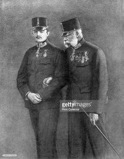 Emperor Franz Josef I of Austria and Archduke Karl Habsburg, . Acting on the advice of his foreign minister, Leopold von Berchtold, Franz Josef I...