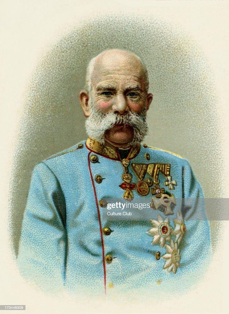 Emperor Franz Josef I / Joseph : News Photo
