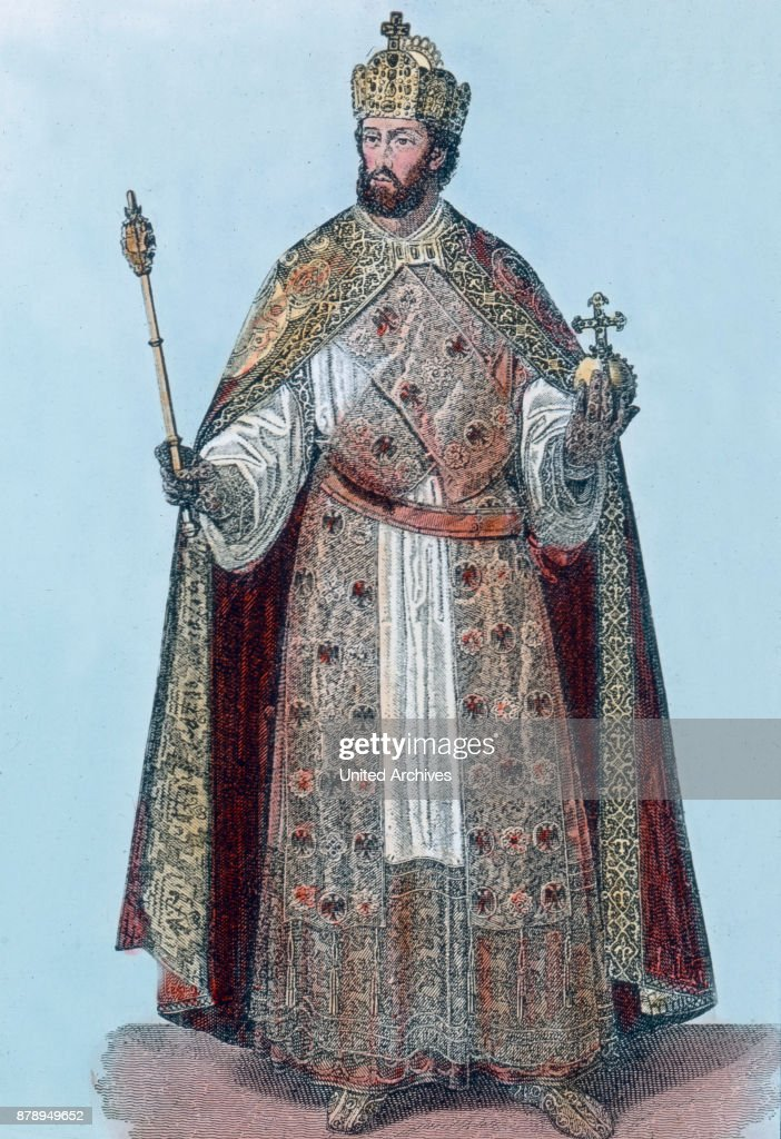 Emperor Frederick I Barbarossa. : News Photo