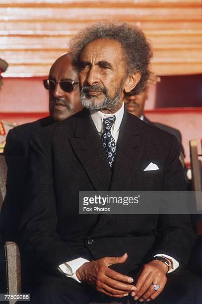Emperor Haile Selassie of Ethiopia circa 1970