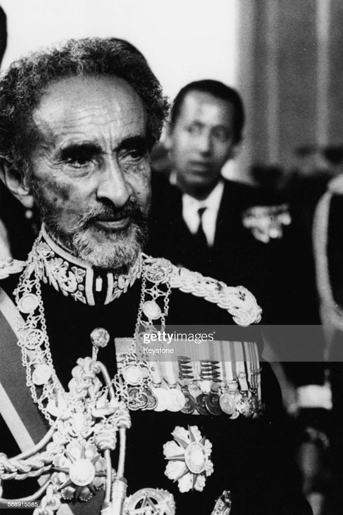 Emperor Haile Selassie : News Photo