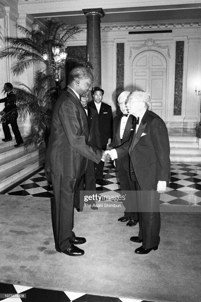 Kenyan President Daniel arap Moi Visits Japan : News Photo