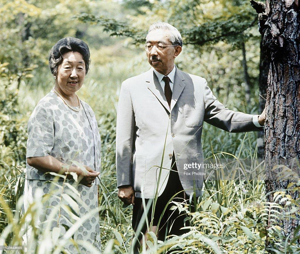 Hirohito And Nagako : News Photo