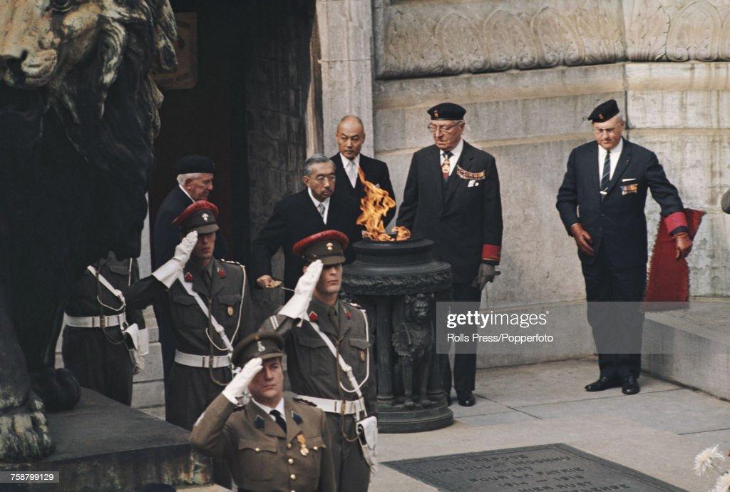 Hirohito In Belgium : News Photo