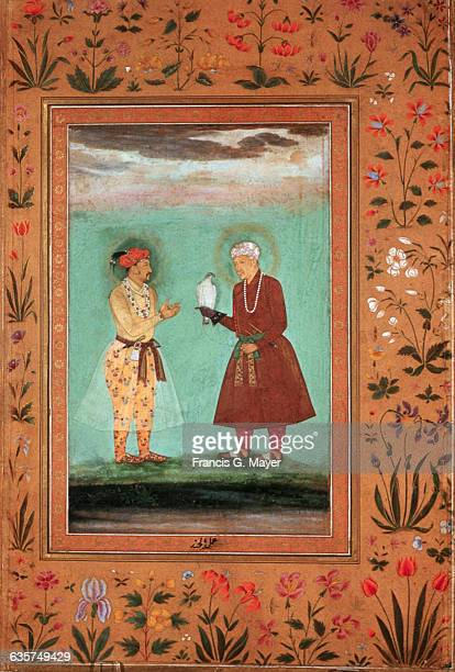Emperor Jahangir His Father Akbar the Great