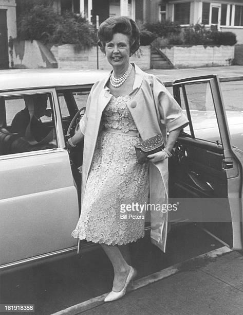 JUL 5 1967 JUL 6 1967 AUG 3 1967 'Emperor Jones' Presented at Bonfils Theatre Mrs Milton Bernet was a season ticket holder for the University of...