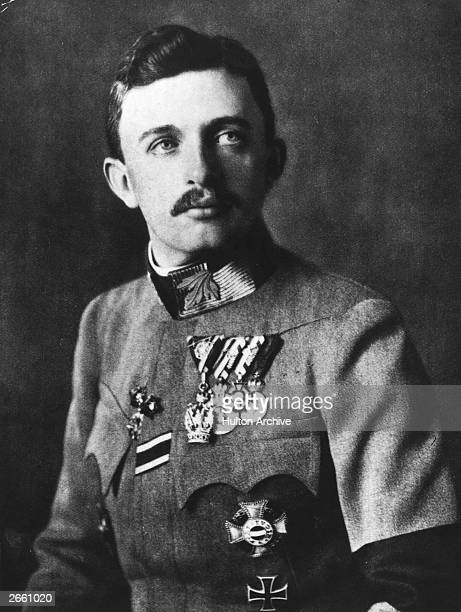 Emperor Karl Franz Josef of Austria , the last of the Habsburg emperors. He reigned as King of Hungary from 1916 to 1919.