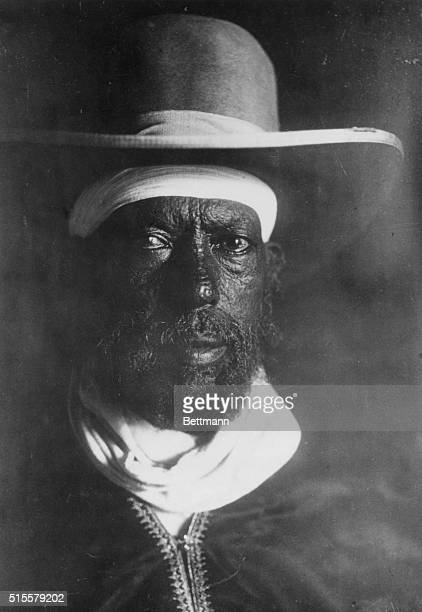 Emperor Menelik II of Ethiopia Head and shoulders photograph ca 1900 BPA