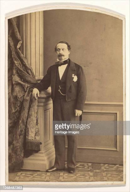 Emperor Napoleon III, March 1860. Artist Olympe Aguado.