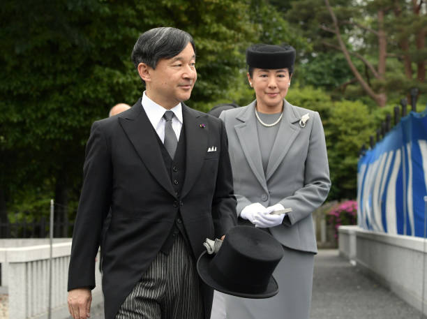 JPN: Emperor And Empress Visit Toshimagaoka Cemetery To Mark 5th Anniversary Of Death Of Prince Katsura