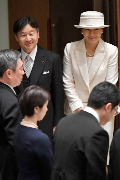 JPN: Emperor And Empress Attend Japan Academy Award Ceremony