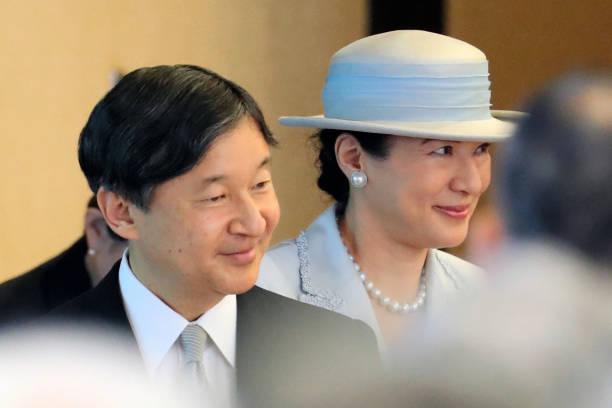 JPN: Emperor And Empress Attend Japan Art Academy Award Ceremony
