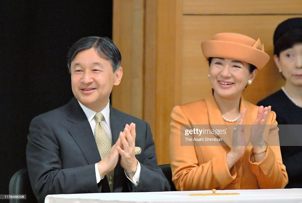 Emperor And Empress Attend 60th Anniversary Convention Of Nikkei And Japanese Abroad : News Photo
