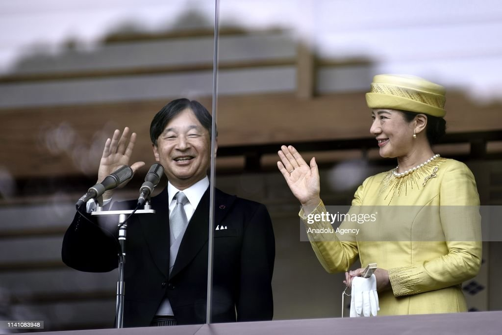 Japan's New Emperor Naruhito first official public appearance : ニュース写真