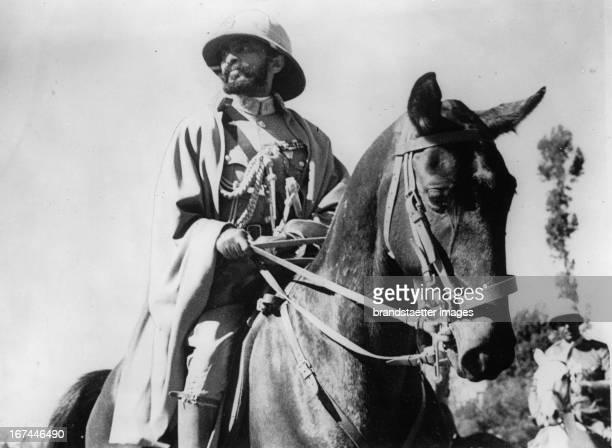 Emperor of Abyssinia Haile Selassie About 1935 Photograph Der Kaiser von Abessinien Haile Selassie Um 1935 Photographie