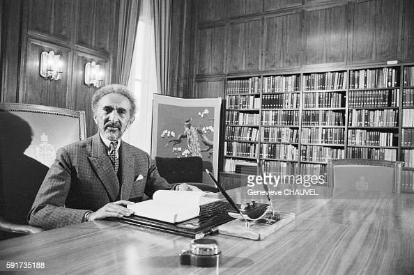 Emperor of Ethiopia Haile Selassie at the Fairfield Palace