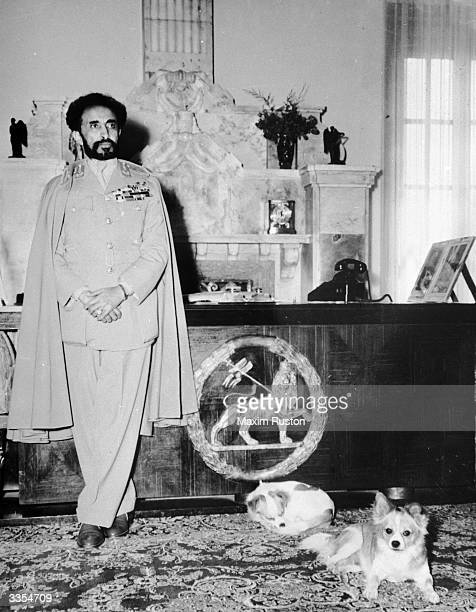Emperor of Ethiopia Haile Selassie I He Westernised the institutions of his country and played a vital part in the establishment of the Organisation...