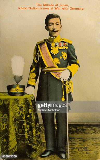 Emperor Taisho of Japan During World War I