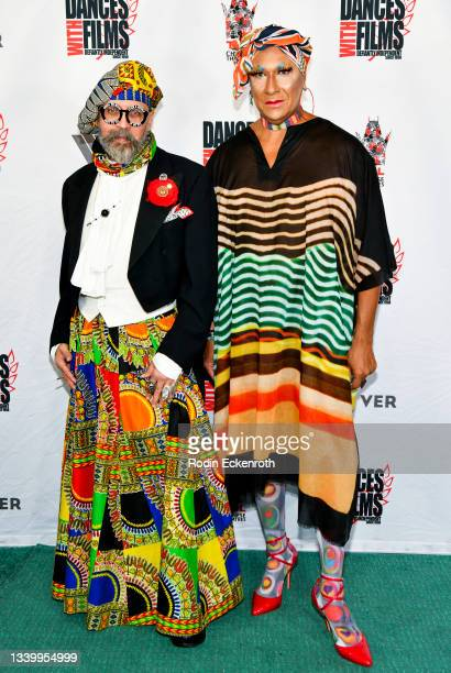 """Emperor Vanity Society and Gazelle Paulo attend the Closing Night of Dances with Film Festival with premiere of """"Mister Sister"""" at TCL Chinese..."""
