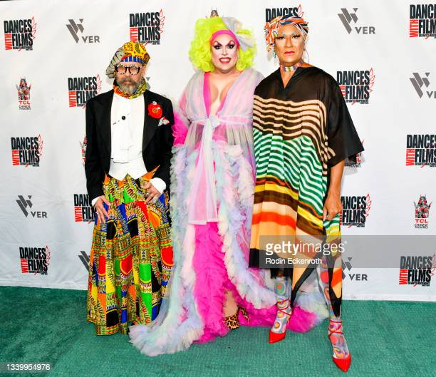 """Emperor Vanity Society, Chaka Khanvict, and Gazelle Paulo attend the Closing Night of Dances with Film Festival with premiere of """"Mister Sister"""" at..."""
