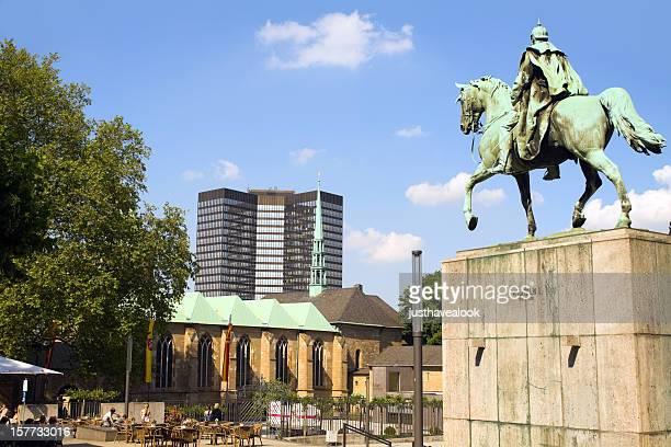 Emperor Wilhelm I and Essen City