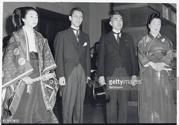 Emperor's Daughter Weds Commoner Tokyo Japan Emperor Hirohito's eldest single daughter Princess Taka and 27yearold commoner Toshimichi Takatsukasa...