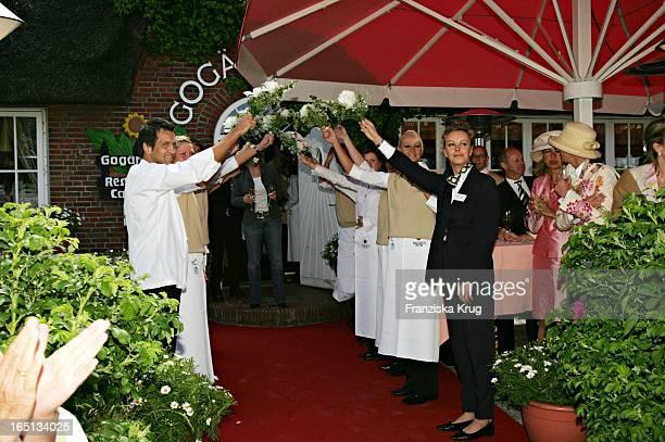 Empfang In Der Sansibar Am Abend Nach Der Kirchlichen Hochzeit Von Stich In Rantum Auf Sylt Am 110605