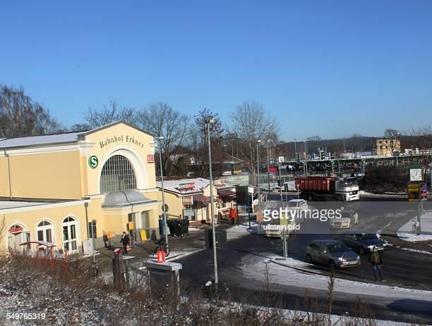Empfangsgebaeude Bahnhof Erkner ist komplett saniert das Empfangsgebaeude und der SBahnBereich wurden erneuert