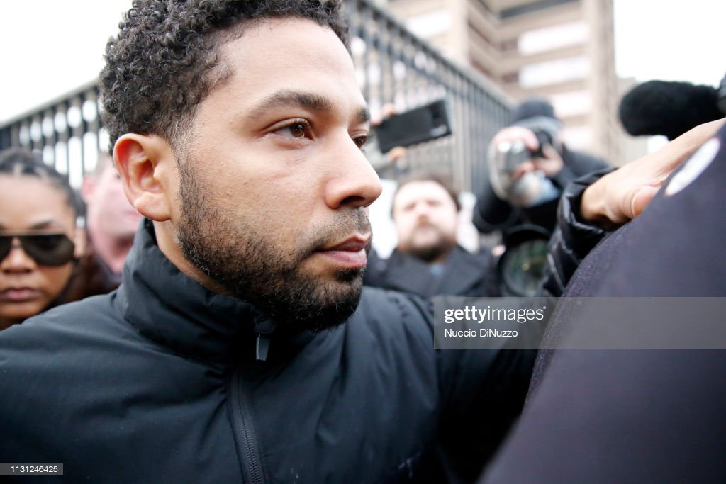 Bond Hearing Held For Actor Jussie Smollett After  Disorderly Conduct Charge : News Photo
