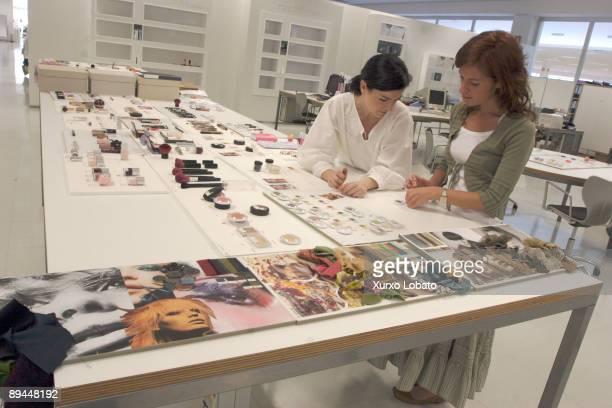 Empire Cosmetics area in the Zara factory Sabon Arteixo la Coruna The Spanish Fashion Company INDITEX owned by Amancio Ortega The entire design...