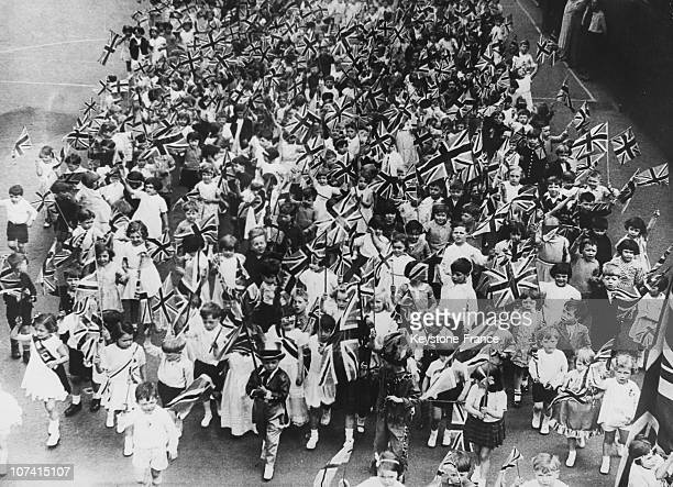 Empire Day Celebration At London In England On May 24Th 1934