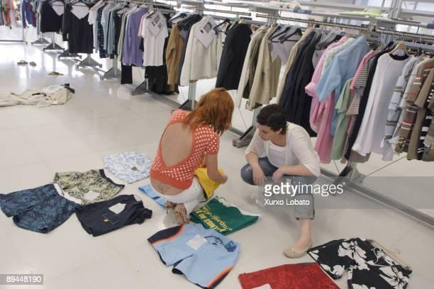 Empire Design area in the Zara factory Sabon Arteixo la Coruna The Spanish Fashion Company INDITEX owned by Amancio Ortega The entire design...