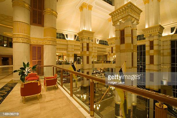 Empire Hotel lobby, The Empire Hotel and Country Club, Brunei Darussalam.
