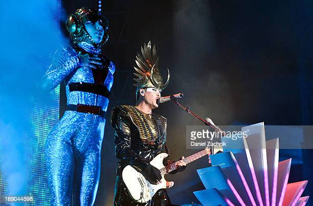 Empire of the Sun performs during 2013 Electric Daisy Carnival New York at Citi Field on May 18 2013 in New York City