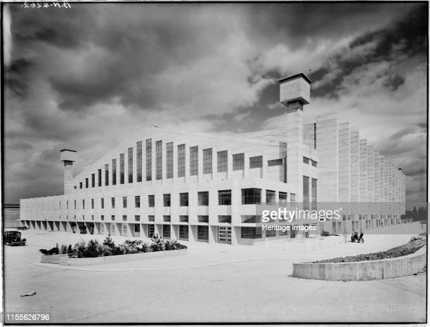 Empire Pool Engineers Way Brent Wembley London 1934 A view from the southwest showing the front elevation of the Empire Pool Designed by Sir Owen...