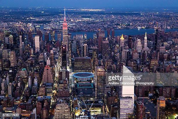 Empire State Building and Madison Square Garden