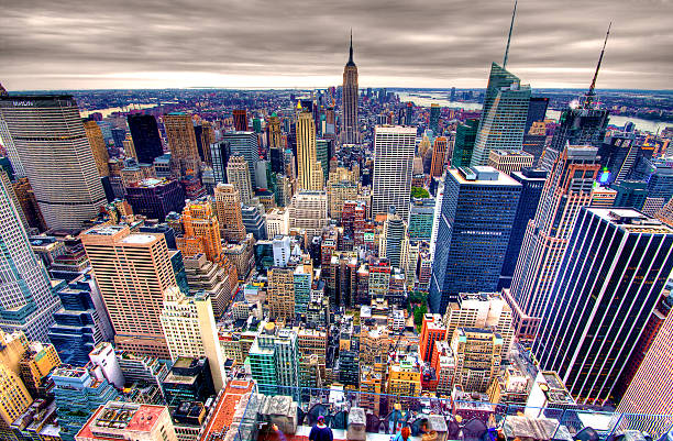 Empire State Building And Midtown Manhattan Wall Art