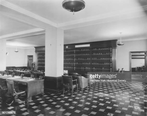 Empire State Building brokerage office New York New York 1929