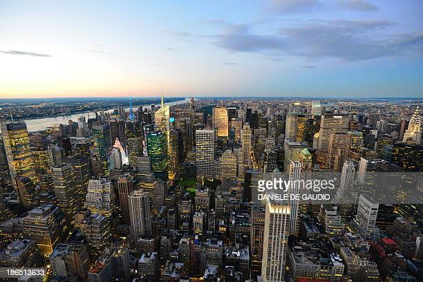 CONTENT] NYC Empire State Building Classic but still breathtaking view from 86th floor