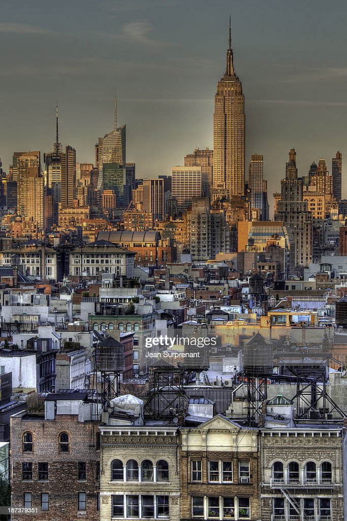 Empire State Building HDR I : Stock Photo