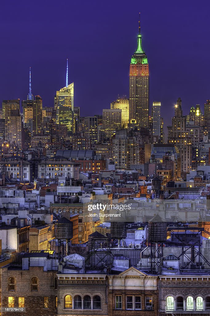 Empire State Building HDR II : Stock Photo
