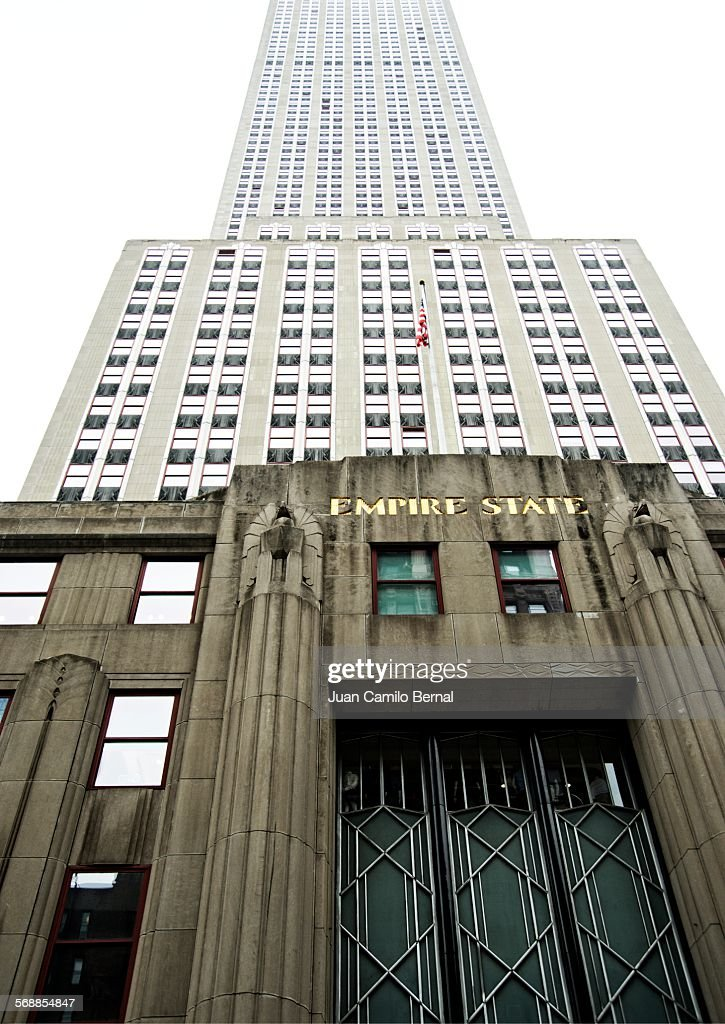 Empire State building in New York : Stock Photo
